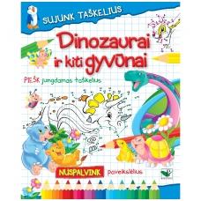 BROKAS!!! Sujunk taškelius. Dinozaurai ir kiti gyvūnai (iš grąžinimų)