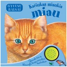 BROKAS!!! Gyvūnų balsai. Kačiukas miaukia miau (neveikia garsai)