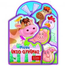 Mūsų ūkio gyvūnai. 2-3 metų vaikams (BROKAS,  PALANKSTYTA)
