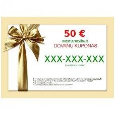 50 € dovanų kuponas