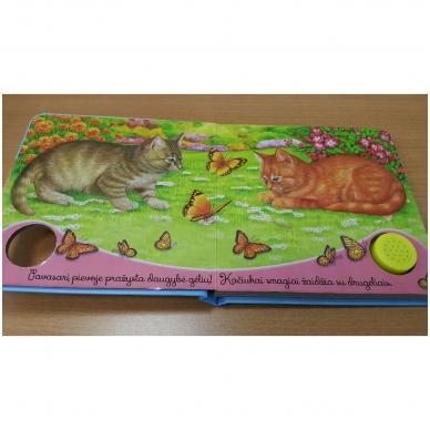 BROKAS!!! Gyvūnų balsai. Kačiukas miaukia miau (neveikia garsai) 5