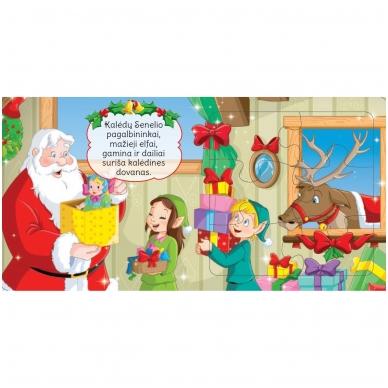 BROKAS!!! Kalėdinės dėlionės. Stebuklingas Kalėdų Senelio pasaulis (įplyšęs viršelis) 3