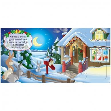 BROKAS!!! Kalėdinės dėlionės. Stebuklingas Kalėdų Senelio pasaulis (įplyšęs viršelis) 5