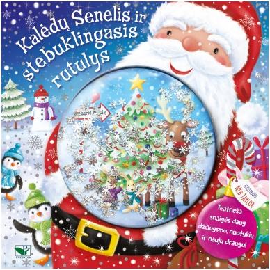 BROKAS!!! Kalėdų Senelis ir stebuklingasis rutulys (perspausta)
