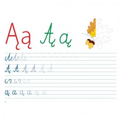 Mokausi rašyti 5-6 metų vaikams. Su flomasteriu. Nutrynęs vėl rašyk! (BROKAS, NĖRA FLOMASTERIO) 3