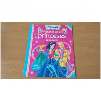 Princesės. Lagaminėlis su rankenėle (rinkinyje 4 knygos) (BROKAS!!! PALANKSTYTA DĖŽUTĖ) 5