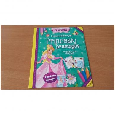 Princesės. Lagaminėlis su rankenėle (rinkinyje 4 knygos) (BROKAS!!! PALANKSTYTA DĖŽUTĖ) 7