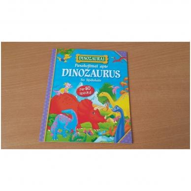 BROKAS!!! Dinozaurai. Lagaminėlis su rankenėle (rinkinyje 4 knygos) (iš grąžinimų) 6