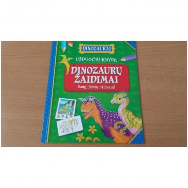 BROKAS!!! Dinozaurai. Lagaminėlis su rankenėle (rinkinyje 4 knygos) (iš grąžinimų) 4