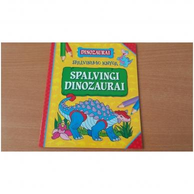 BROKAS!!! Dinozaurai. Lagaminėlis su rankenėle (rinkinyje 4 knygos) (iš grąžinimų) 5