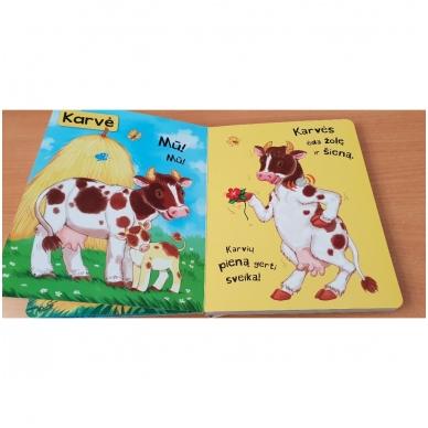 BROKAS!!! Spausk ir klausyk. Ūkio gyvūnai (iš grąžinimų, garsai veikia) 3