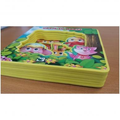 BROKAS!!! Ūkyje su Marge. Knyga su akimis (perspausta) 3