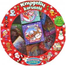 Knygelių karuselė. Džiaugsmingų Kalėdų