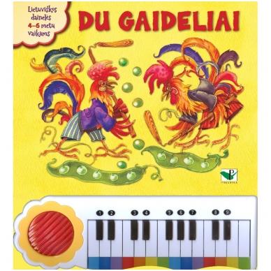 BROKAS!!! Du gaideliai. Lietuviškos dainelės su pianinu (iš grąžinimų)