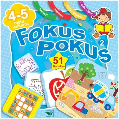 Fokus Pokus 2 (4-5m., 51 lipd.)