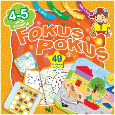 Fokus Pokus 4 (4-5m., 51 lipd.)