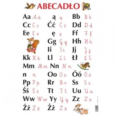 """Plakatas """"Abecadlo"""" (A2 formato)"""
