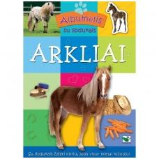 ARKLIAI (albumėlis su lipdukais)