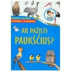 Ar pažįsti paukščius? [knyga su lipdukais + plakatas]