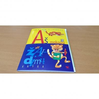 Aš mokausi. Žaidimų knyga (knygos iš grąžinimų, su trūkumais) 2