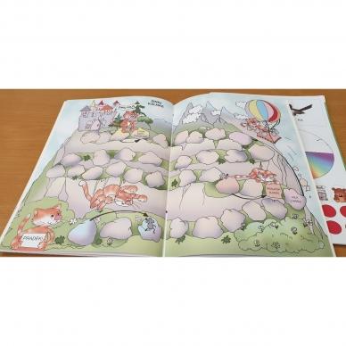 Aš mokausi. Žaidimų knyga (knygos iš grąžinimų, su trūkumais) 13