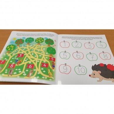 Bitutės rankos lavinimo užduotėlės 5-6 metų vaikams (su flomasteriu) 2