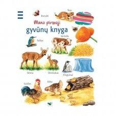 BROKAS!!! Mano pirmoji gyvūnų knyga (iš grąžinimų)