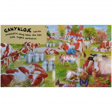BROKUOTA!!! Kas ūkyje gyvena. Garsų knyga su paslaptimis. BROKUOTA!!! 3