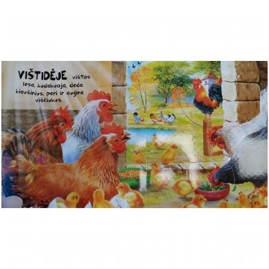 BROKUOTA!!! Kas ūkyje gyvena. Garsų knyga su paslaptimis. BROKUOTA!!! 4