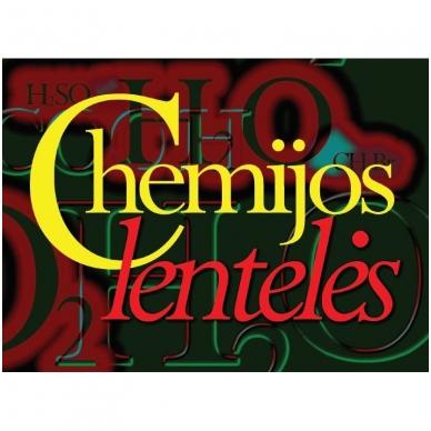 Chemijos lentelės