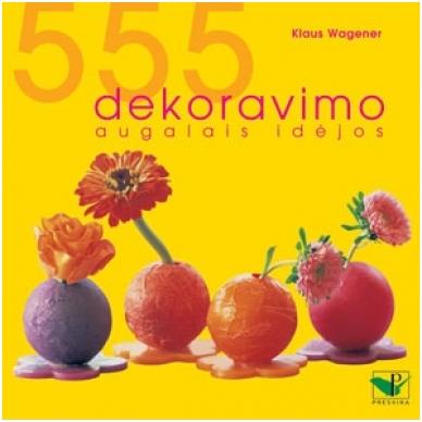 555 dekoravimo augalais idėjos
