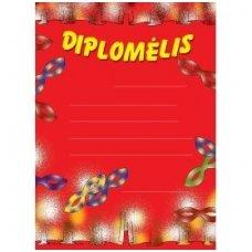 Diplomėlis su domino