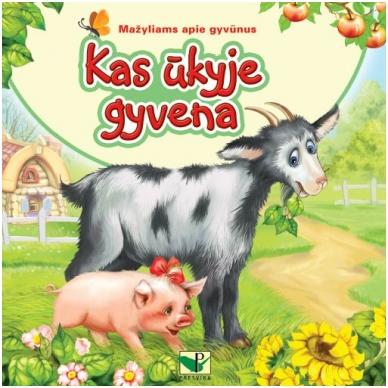"""BROKAS!!! Serija """"Mažyliams apie gyvūnus"""". Kas ūkyje gyvena (neveikia garsai)"""