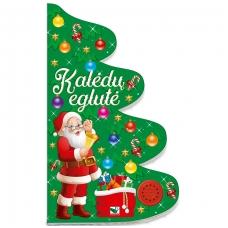 Kalėdų eglutė. Knyga-eglutė su garsais 2-3 metų vaikams