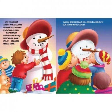 BROKAS!!! Kalėdinė istorija. NEPAPRASTOS KALĖDOS (Įplyšęs viršelis) 2