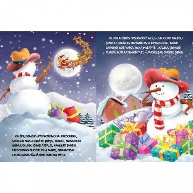 BROKAS!!! Kalėdinė istorija. NEPAPRASTOS KALĖDOS (Įplyšęs viršelis) 3