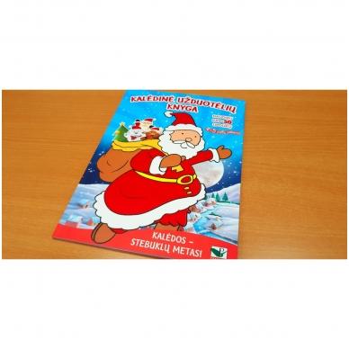 Kalėdinė užduotėlių knyga. Daugiau kaip 50 lipdukų. 4-5 metų vaikams 2