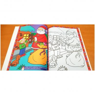 Kalėdinė užduotėlių knyga. Daugiau kaip 50 lipdukų. 4-5 metų vaikams 8