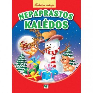 BROKAS!!! Kalėdinė istorija. NEPAPRASTOS KALĖDOS (Įplyšęs viršelis)
