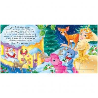 Kalėdinės pasakos (rinkinyje 2 knygelės ir dėlionė) 12