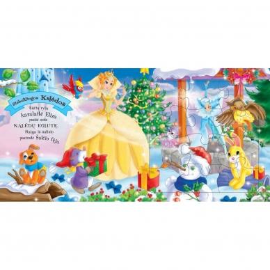 BROKAS!!! Kalėdinės pasakos (rinkinyje 2 knygelės ir dėlionė) (iš grąžinimų) 14
