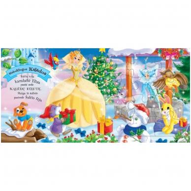 Kalėdinės pasakos (rinkinyje 2 knygelės ir dėlionė) 14