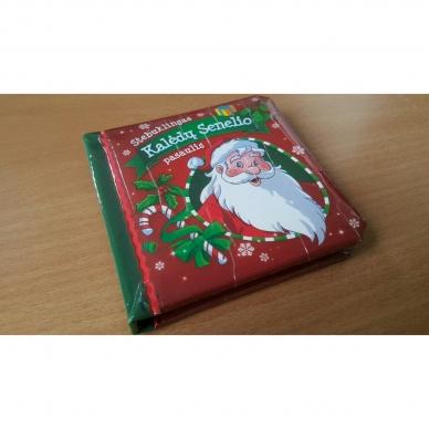 BROKAS!!! Kalėdinės pasakos (rinkinyje 2 knygelės ir dėlionė) (iš grąžinimų) 15