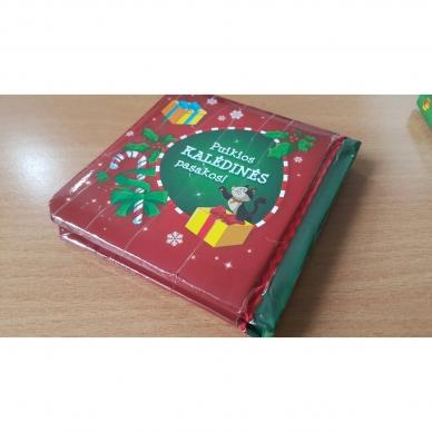 BROKAS!!! Kalėdinės pasakos (rinkinyje 2 knygelės ir dėlionė) (iš grąžinimų) 18