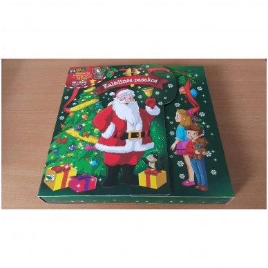 Kalėdinės pasakos (rinkinyje 2 knygelės ir dėlionė) 2