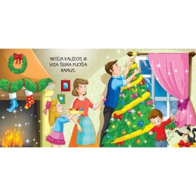 BROKAS!!! Kalėdinės pasakos (rinkinyje 2 knygelės ir dėlionė) (iš grąžinimų) 7