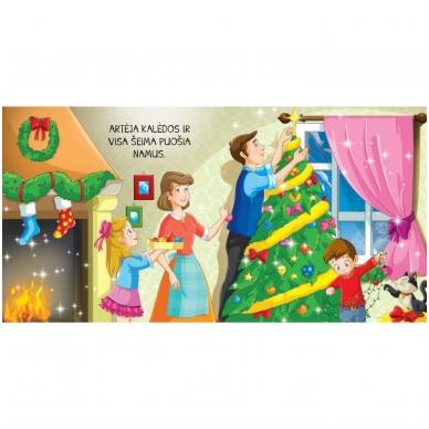 Kalėdinės pasakos (rinkinyje 2 knygelės ir dėlionė) 7