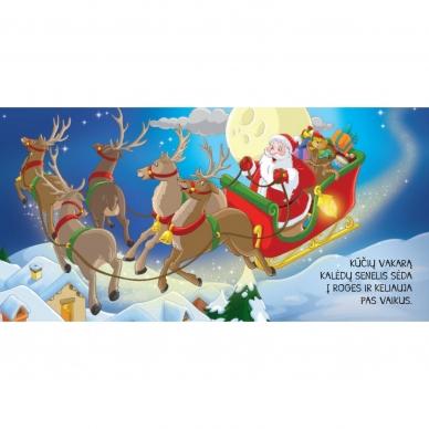 BROKAS!!! Kalėdinės pasakos (rinkinyje 2 knygelės ir dėlionė) (iš grąžinimų) 8