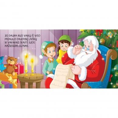 BROKAS!!! Kalėdinės pasakos (rinkinyje 2 knygelės ir dėlionė) (iš grąžinimų) 9