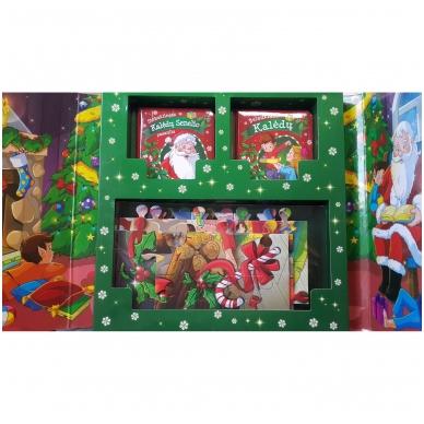 Kalėdinės pasakos (rinkinyje 2 knygelės ir dėlionė) 3